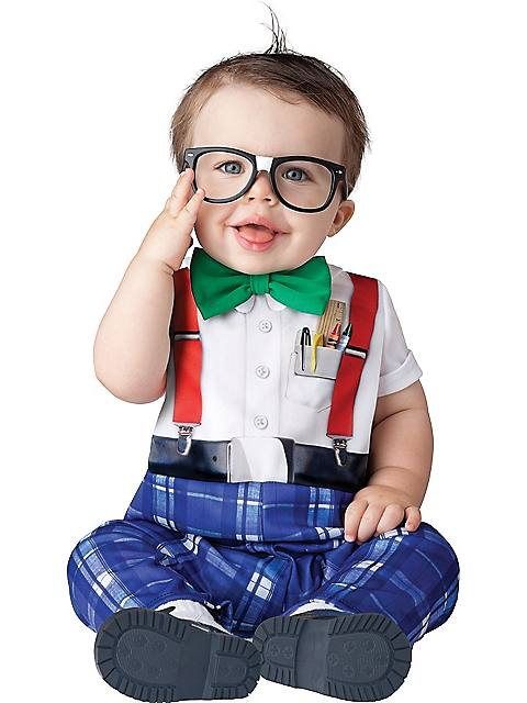 Nursery Nerd Costume for Toddler