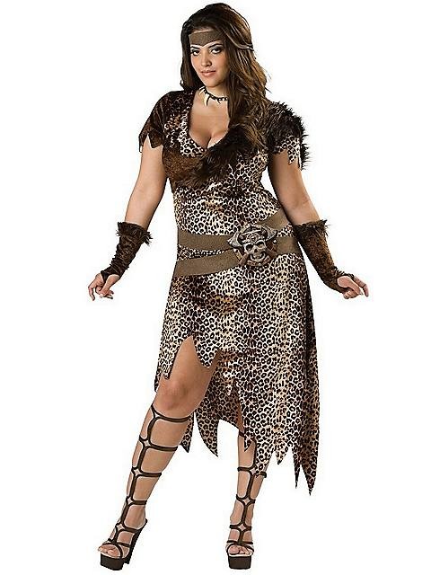 Barbarian Woman Adult Plus Costume