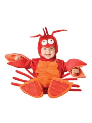Click Here to buy Lil Lobster Baby & Toddler Costume from Costume Discounters
