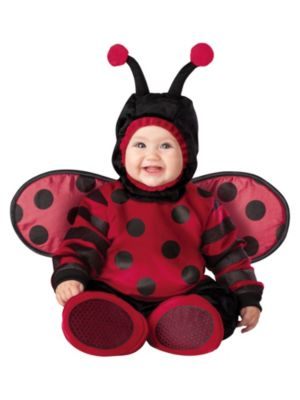Click Here to buy Itty Bitty Lady Bug Baby & Toddler Costume from Wholesale Halloween Costumes