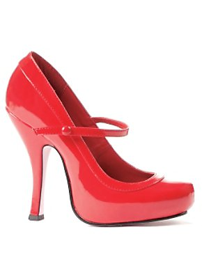 Sexy Red Patent Mary Jane Shoe