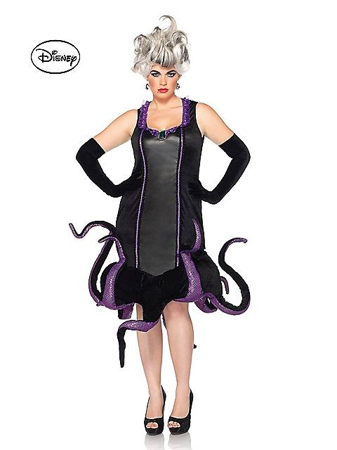 Women's Disney The Little Mermaid Ursula Plus Size Costume