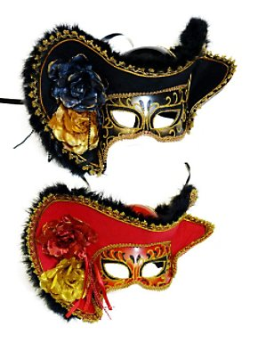 Pirate Venetian Mask