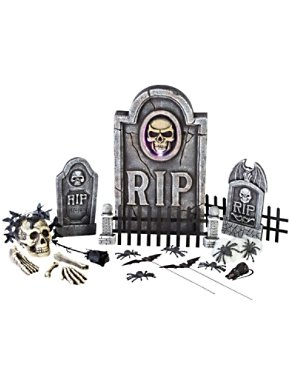 25 Piece Boneyard Graveyard Kit