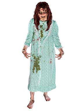 Adult Exorcist Regan Adult Costume w/ Wig