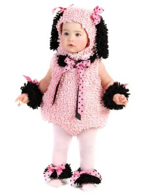 Click Here to buy Pinkie Poodle Costume for Babys from Costume Discounters