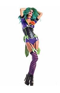 Women's Sexy Funny Lady Villain Costume