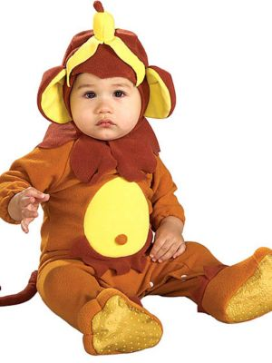 Click Here to buy Baby Monkey See Monkey Do Romper Costume from Wholesale Halloween Costumes