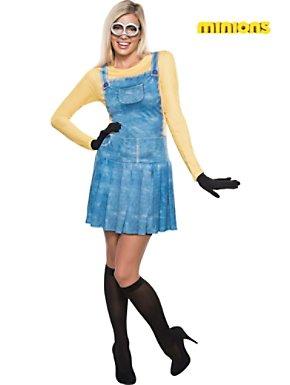 Women's Female Minion Plus Size Costume
