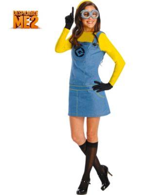 Plus Size Adult Despicable Me Plus Size Minion Costume
