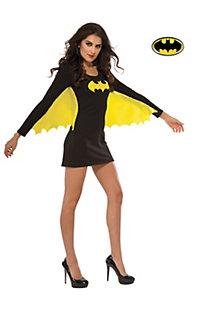 Women's Sexy Batgirl Wing Dress Costume