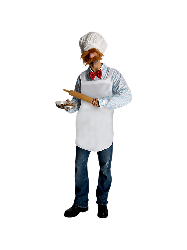 muppets swedish chef halloween costume for adults ebay