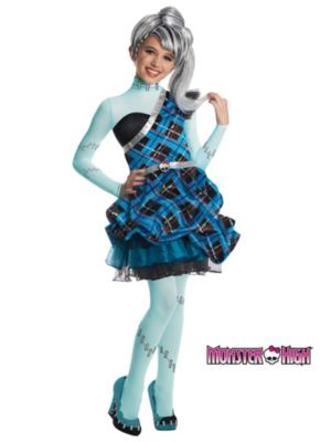 Click Here to buy Monster High Frankie Stein Sweet 1600 Deluxe Kids  from Costume Discounters