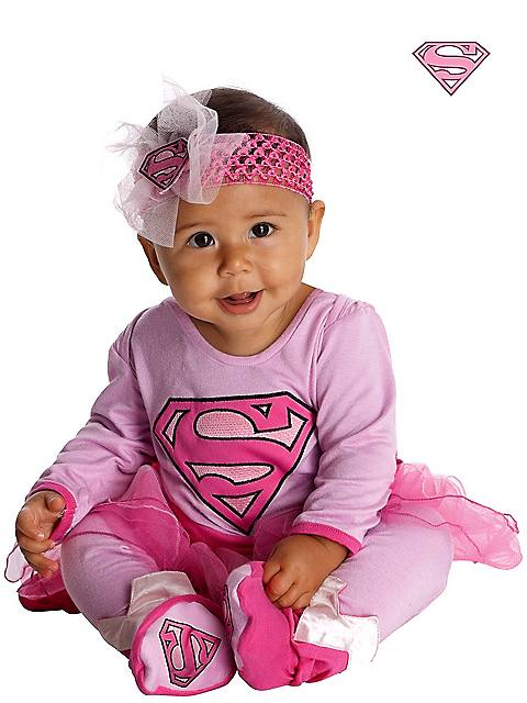 Super Girl Infant Jumper Costume for Toddlers