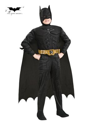 Click Here to buy Deluxe Batman Dark Knight Rises Costume for Toddle from Wholesale Halloween Costumes