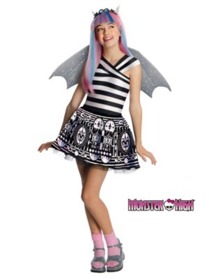Click Here to buy Rochelle Goyle Monster High Kids Costume from Costume Discounters