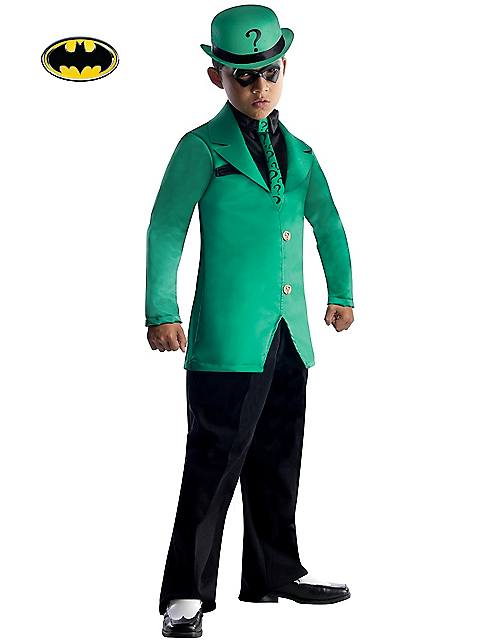 DC Comics Gotham Super Villains Riddler Costume for Kids