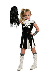 Girls cheerleader costumes kids cheerleader halloween costume for a