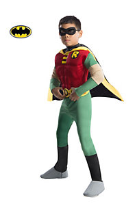 Boy's Deluxe Muscle Chest Robin Costume