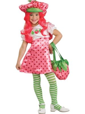 Click Here to buy Strawberry Shortcake Girls Costume from Wholesale Halloween Costumes