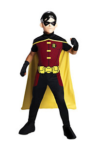 Boys Young Justice Robin Costume