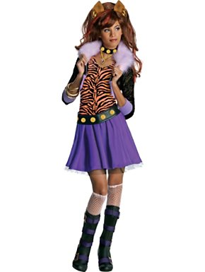 Child Clawdeen Wolf Monster High Costume