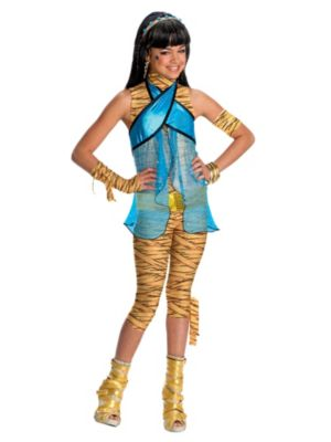 Click Here to buy Cleo DeNile Monster High Girls Costume from Costume Discounters