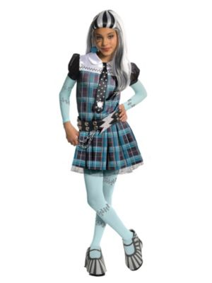 Click Here to buy Girl's Deluxe Frankie Stein Monster High Costume from Costume Discounters