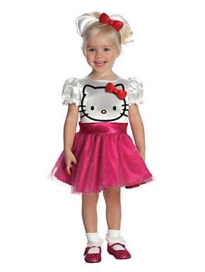 Toddler Hello Kitty Tutu Dress Child Costume