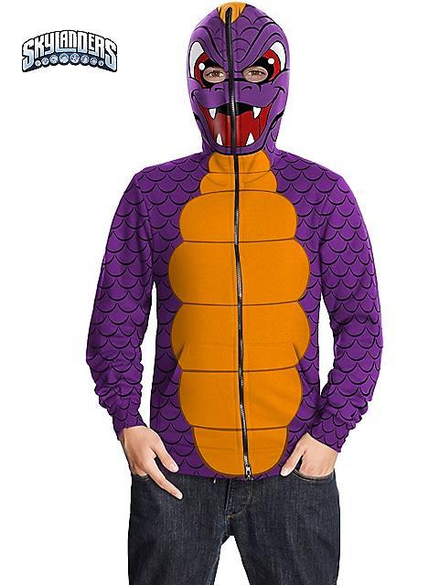 Skylander's Spyro Hoodie Costume for Kids