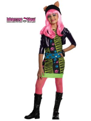 Click Here to buy Howleen Monster High Kids Costume from Costume Discounters