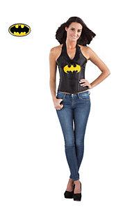 Women's Batgirl Faux Leather Corset