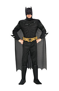 Men's Deluxe Muscle Dark Knight Batman Costume