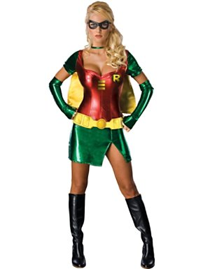 Sexy Adult Robin Womens Costume