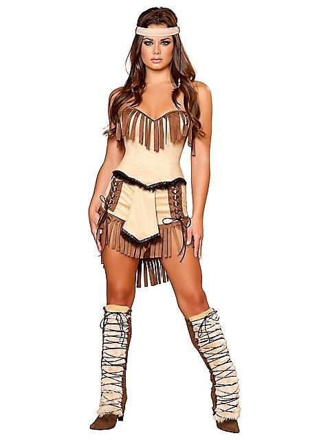 Womens Sexy Cherokee Indian Costume