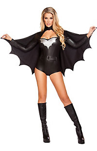 Women's Sexy Night Vigilante Costume