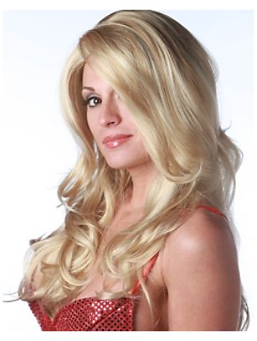 Deluxe Blonde/light Blonde Siren Wig Adult
