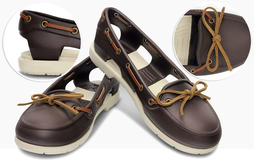 Crocs Beach Line Women S Boat Shoes
