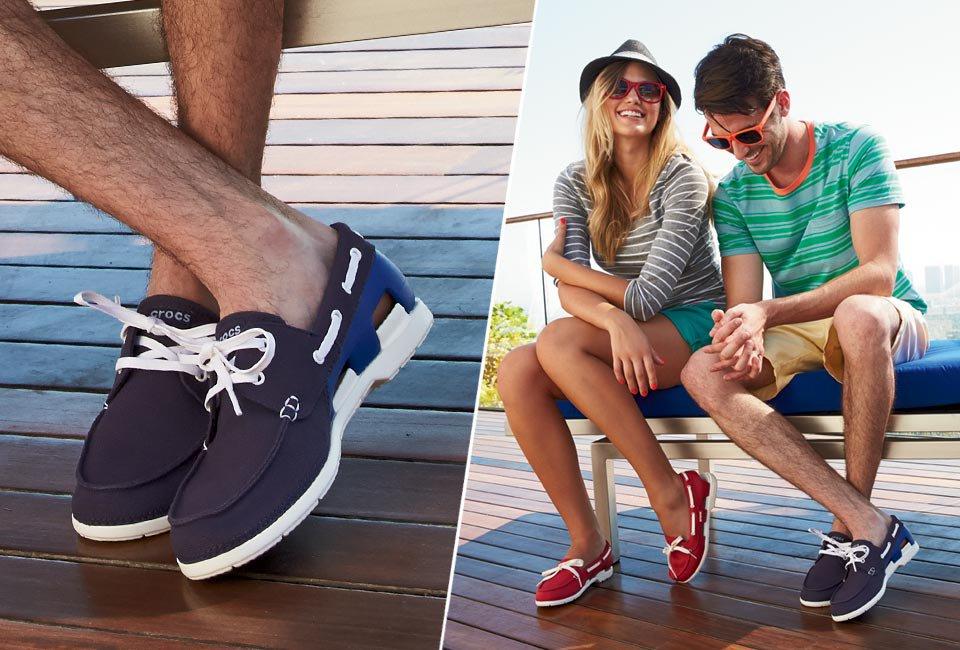 Men's Beach Line Lace-up Boat Shoe | Comfortable Boat Shoes ...