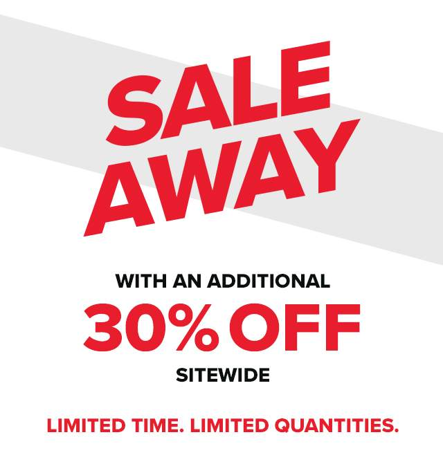 Sale away with an additional 30% off sitewide