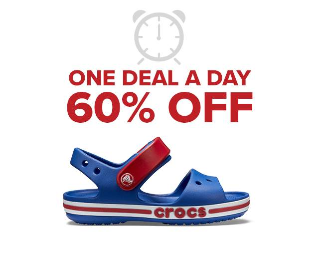ONE DEAL A DAY 60% OFF