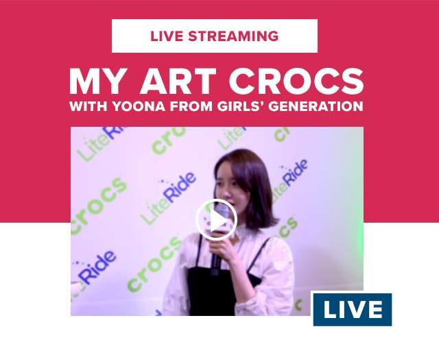 MY ART CROCS with Yoona from Girls' Generation