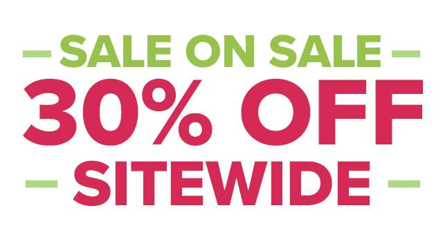 SALE ON SALE 30% OFF SITEWIDE