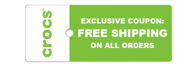 EXCLUSIVE COUPON: FREE SHIPPING  ON ALL ORDERS