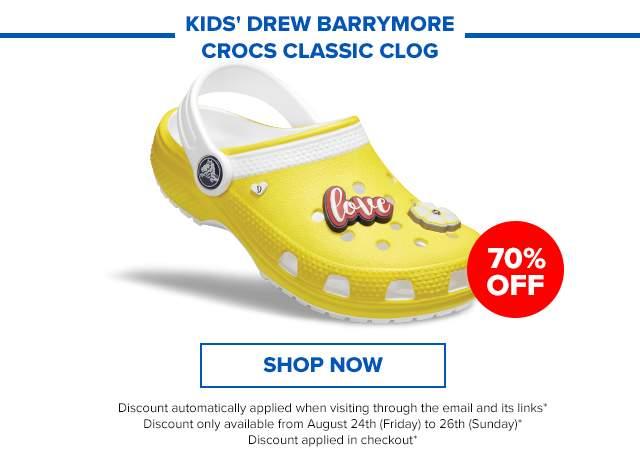 Drew x Crocs Classic Clog Kids