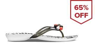 Drew Barrymore Crocs Isabella Flip