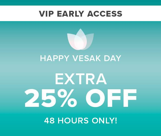 EXTRA 25% OFF 48 HOURS ONLY!