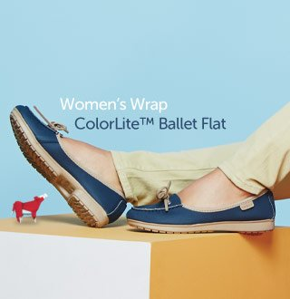 Women's Wrap ColorLite™ Ballet Flat