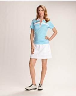 CB DryTec White Event Tech Skort