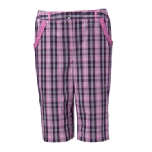Mallory Plaid Short